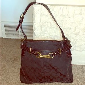 Coach Canvas Hamptons Hobo